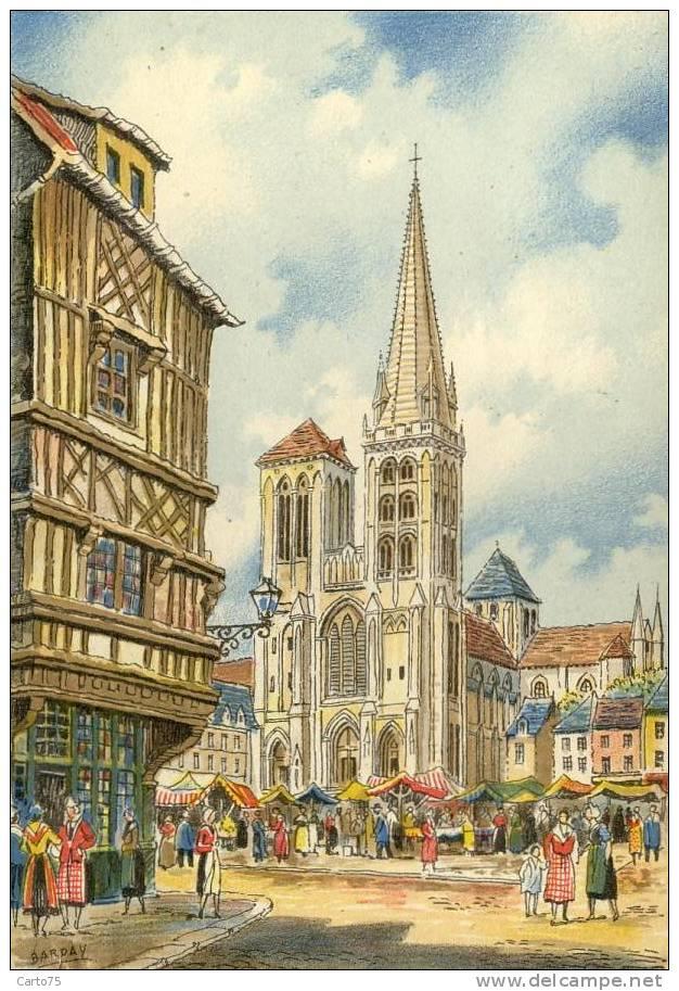 Illustrateur Barday - Barré Dayez - Lisieux Marché - Altre Illustrazioni