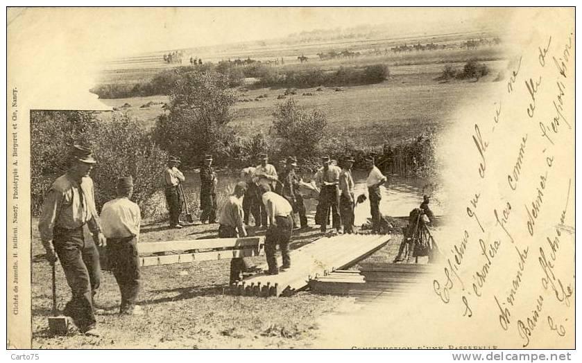 Militaria - Construction Passerelle - Manovre
