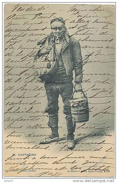 España EL CASTAÑERO C. 1904 - Mercaderes