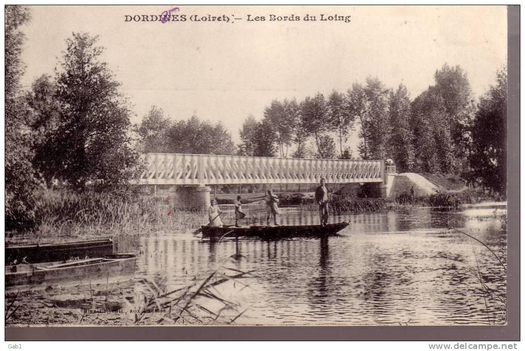 45 --- Dordives --- Les Bords Du Loing - Dordives