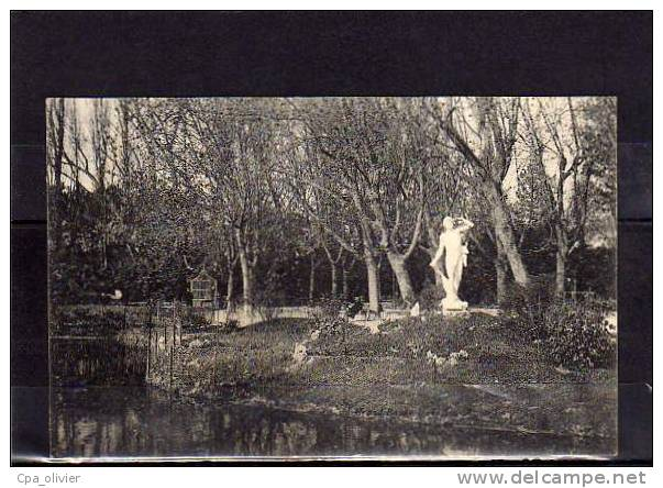 26 MONTELIMAR Parc, Jardin Public, Statue Du Chasseur, Monument, Ed GB, 1914 - Montelimar