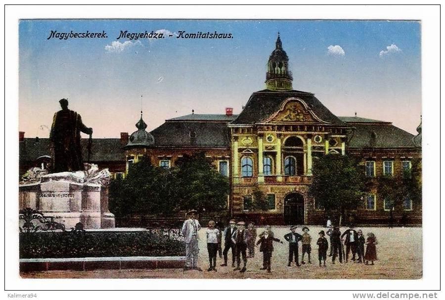 SERBIE  /  NAGYBECSKEREK ( Zrenjanin ) /  MEGYEHAZA  /  KOMITATSHAUS - Serbie