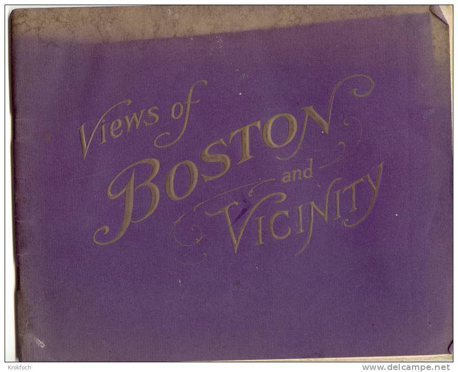 USA - Boston & Vicinity + Harvard University - 48 Pages With Many Pictures - Over 1910 - Livres, BD, Revues