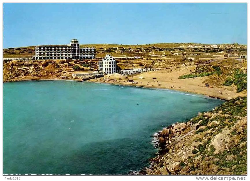 Malte - Malta - Golden Bay - Ghain Tuffieha - Malta