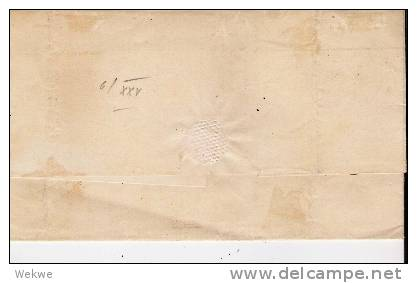 Mex174/ Mexiko. Kaiserreich Adler + 2 Reales, Potosi, 1864 Zudruck (Brief, Cover, Letter, Lettre1 - Mexico