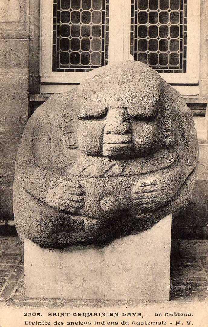 78 ST GERMAIN EN LAYE Chateau, Divinité Des Indiens Du Guatemala, Ed MV 2305, 1925 - St. Germain En Laye (Château)