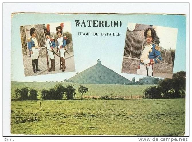 WATERLOO,champ De Bataille,vedute-1965-Targhetta Commemorativa 150e Anniv.della Battaglia- - Manoeuvres