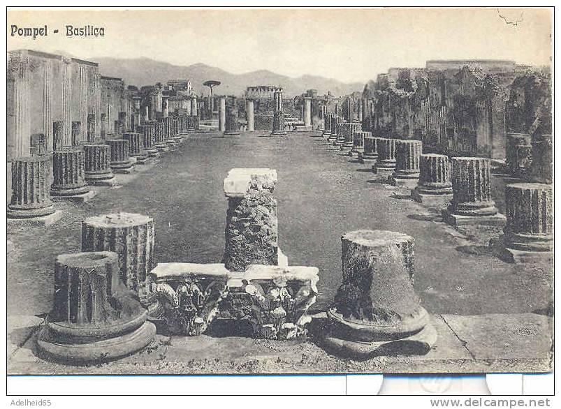 Pompei - Basilica Ed. Cotini, Napoli - Histoire