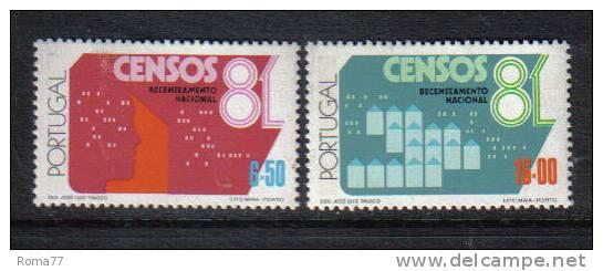 SS350 - PORTOGALLO 1981 ,  N. 1492/1493  *** - 1910-... República