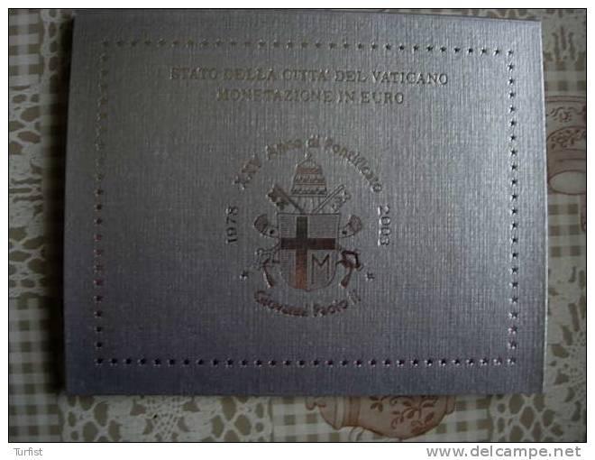 VATICAAN 2003 GIOVANNI PAOLO II - Vatikan