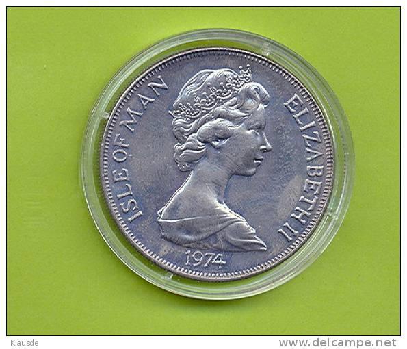 Winston Churchill 1974 1 Crown CuNi. - Regionale Währungen
