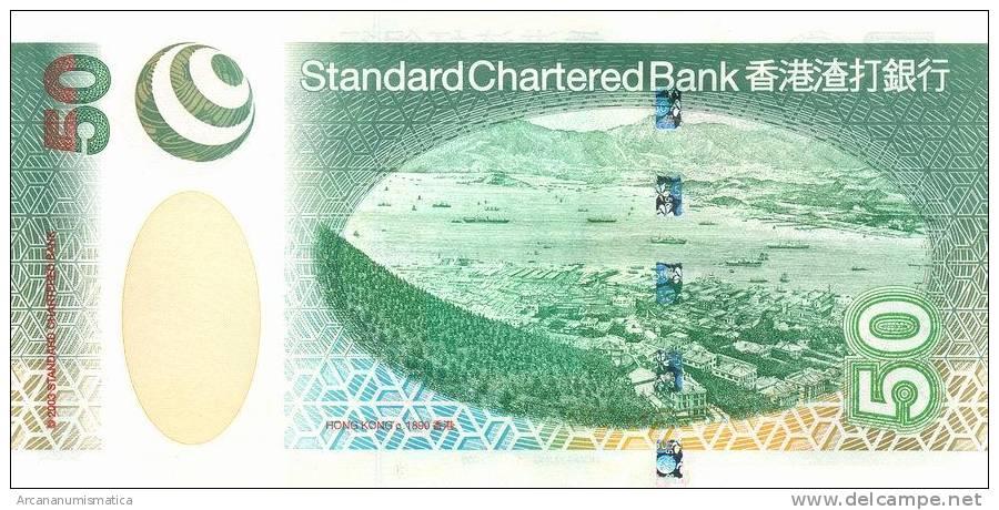 HONG  KONG    50 DOLLARS  1-7-2003   KM#292   PLANCHA/UNC/SC     DL-6662 - Hong Kong
