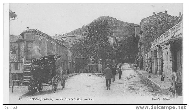 07 /// PRIVAS / Le Mont Toulon LL12 / Grenella Edit / - Privas