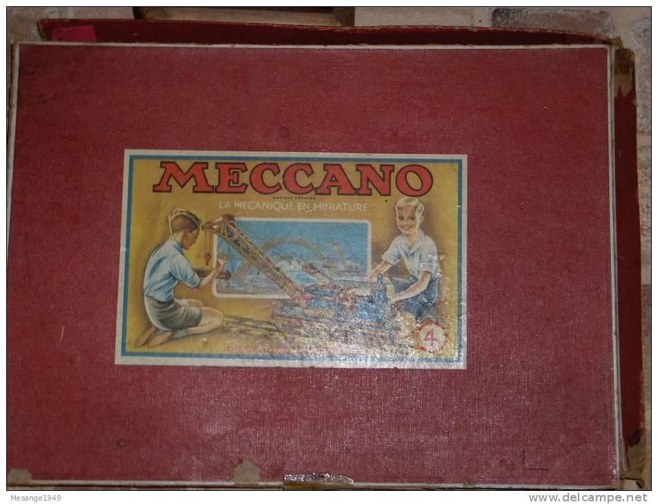 Boite D´origine - Meccano -la  Mecanique En Miniature------- - Unclassified