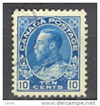 CANADA, KANADA MI 112 KING GEORGE V. USED, GEBR, OBLITERE. VERY FINE QUALITY. - Gebruikt