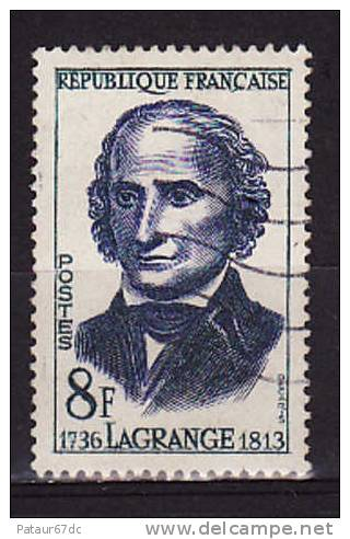 FRANCE / 1958 / Y&T N° 1146 : Lagrange - Usuel - Oblitérés