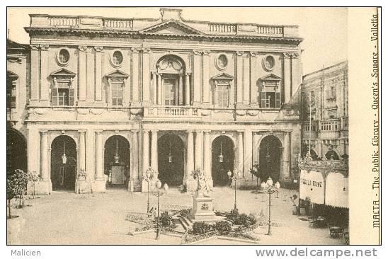 MALTE-ref 28- Malta - The Public Library -queens Square - Valletta - Bon Etat - Malte