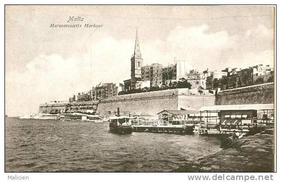 MALTE-ref 27- Malta -  Marsamuscetto Harbour  - Bon Etat - Malte