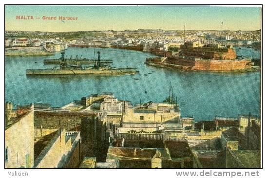 MALTE-ref 24- Malta - Grand Harbour   - Bon Etat - Malte