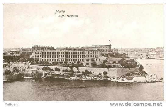 MALTE-ref 22- Malta - Bighi Hospital    - Bon Etat - Malte