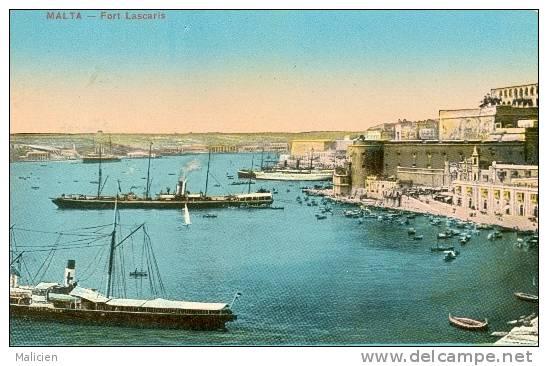 MALTE-ref 05- Malta - Port Lascaris   - Bon Etat - Malte