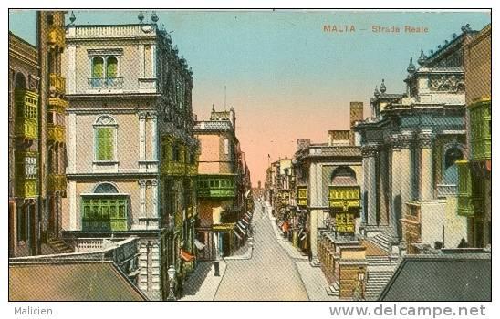 MALTE-ref 02- Malta -  Strada Reale - Bon Etat - Malte