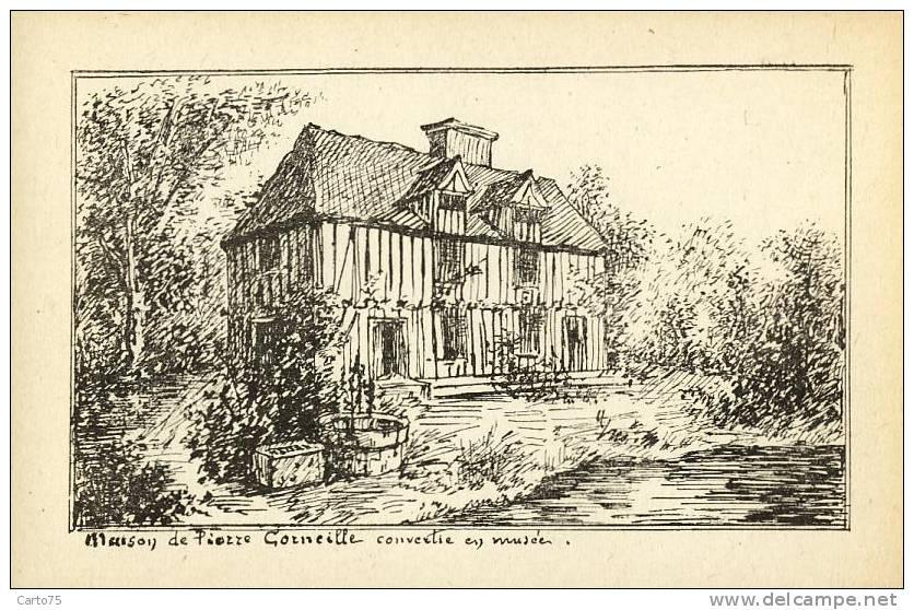 Illustration - Maison De Pierre Corneille - Littérature - Monuments