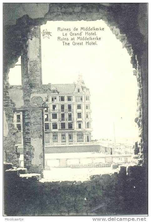 Ruines De Middelkerke   Le Grand Hotel (844  ) - Middelkerke