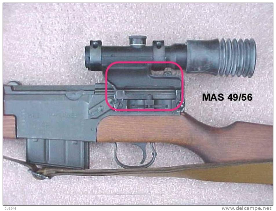 Zielfernrohrmontage Für MAS FS 49/56 - Armes Neutralisées