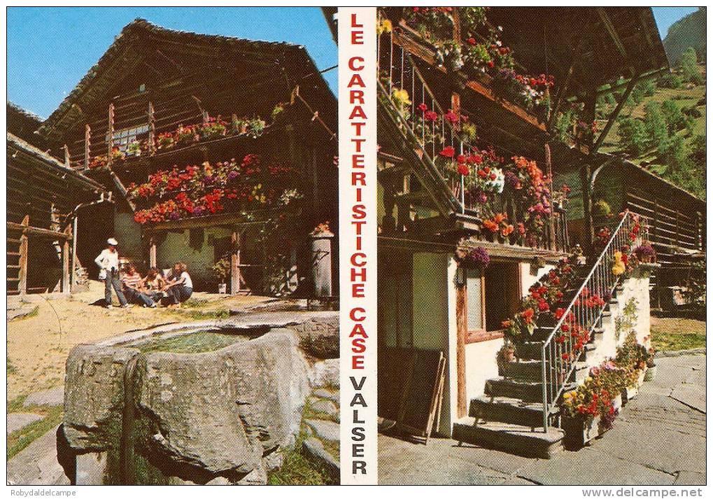 9065 - ALAGNA VALSESIA - Cartolina Mai Viaggiata - Italia