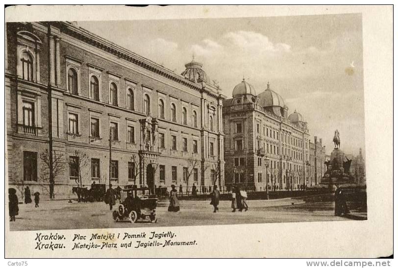 Pologne - Krakow - Cracovie - Automobile - Pologne