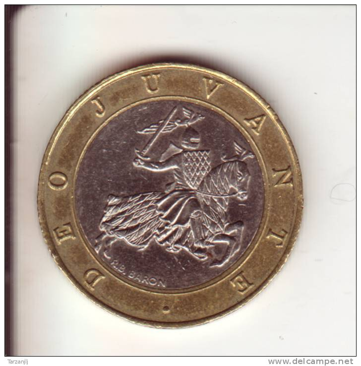 10 Franc Rainier III Prince De Monaco 1995 - 1960-2001 Nouveaux Francs