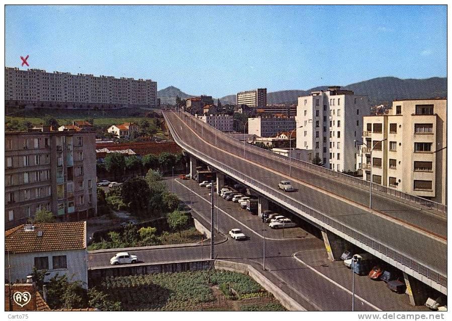 Immeuble - Cité - Viaduc - Clermont Ferrand - Monuments