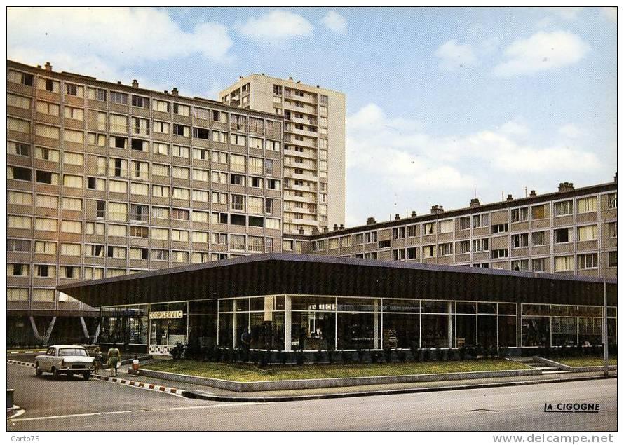 Architecture - Cité Immeuble - Centre Comercial - Automobile - Monuments