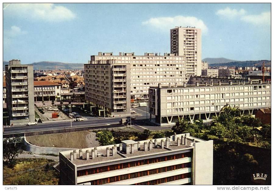 Architecture - Cités Boulevard Claude Bernard - Clermont Ferrand - Monuments