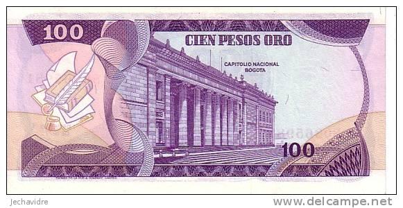 COLOMBIE  100 Pesos Oro   Daté Du 01-01-1977  Pick 418a    ***** BILLET  NEUF ***** - Colombia