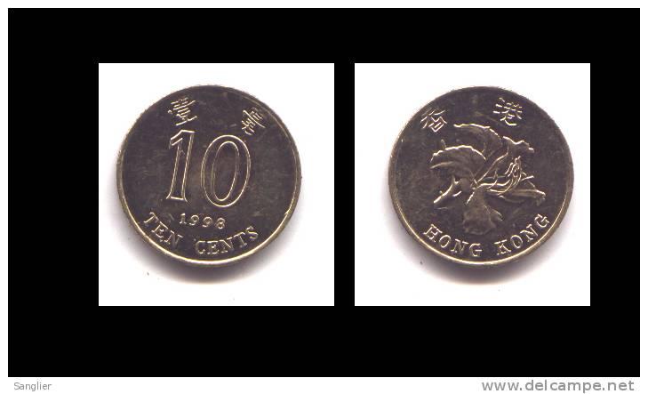 10 CENTS 1998 - Hong Kong