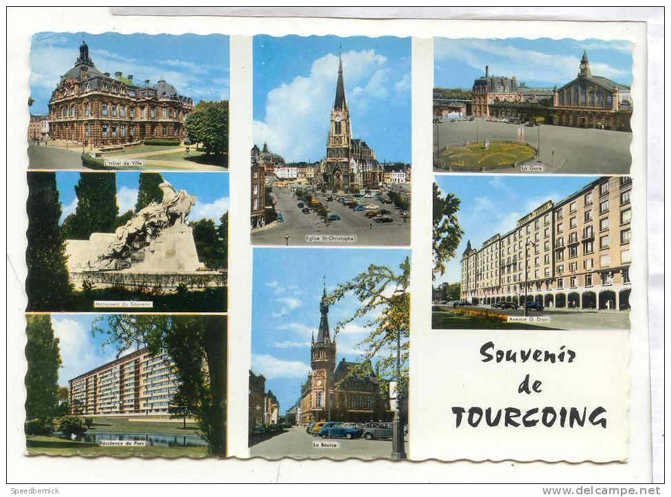 13729 Souvenir Multi Vues 1528 Cap - Tourcoing
