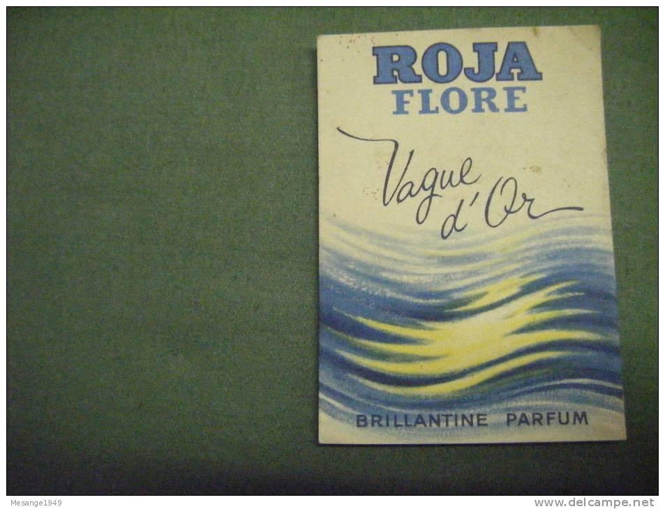 Pub -roja Flore -vague D´or -brillantine Parfum 44-922 - Perfume Cards
