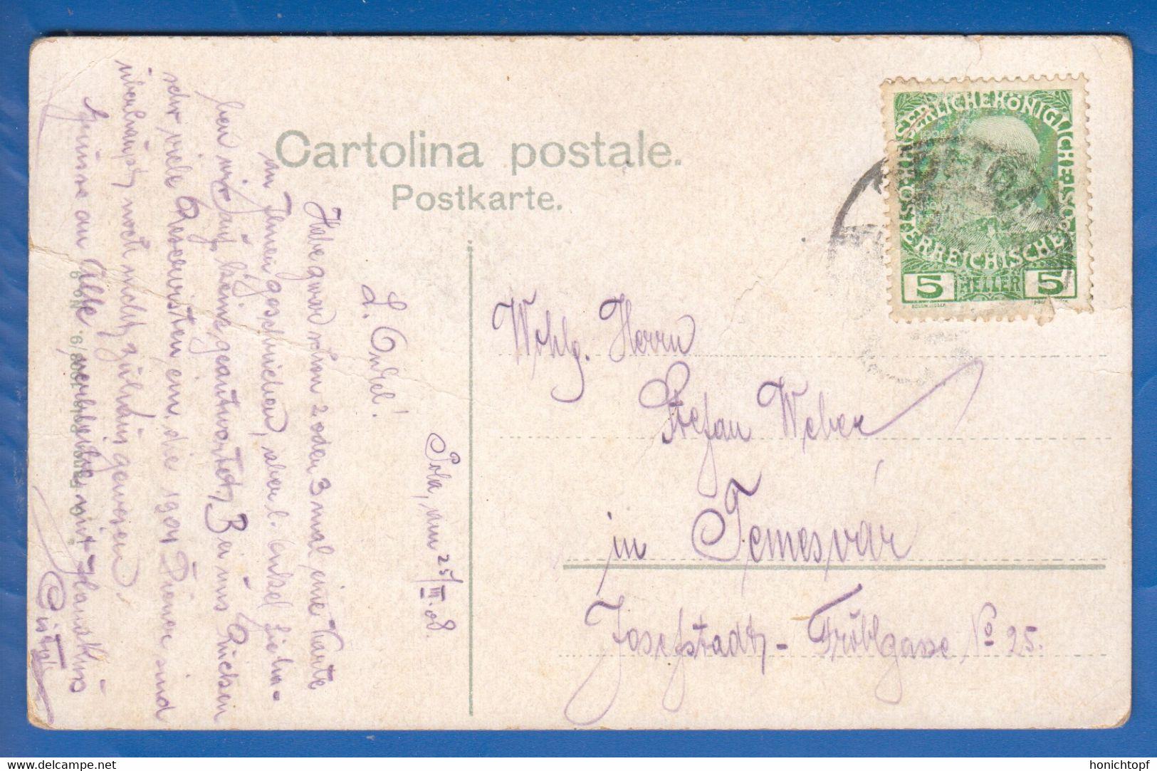 Croatia Kroatien Pula Pola K U K Maschinenschule 1908