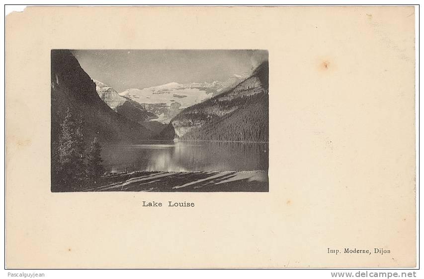 CPA LAKE LOUISE - LAC LOUISE - Lac Louise