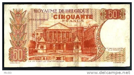 Belgique Billet 50 Francs 16/05/1966 - [ 2] 1831-... : Belgian Kingdom