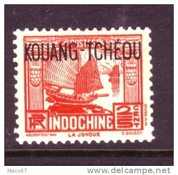 Kouang-Tcheou  101   * - Unused Stamps