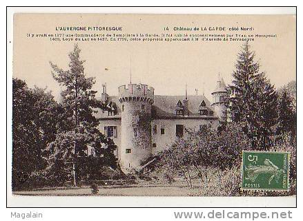 Château De La Garde (côté Nord) - Frankrijk