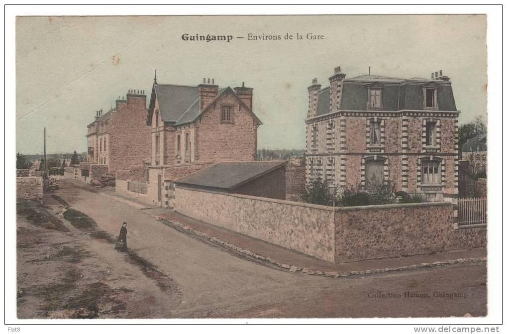 GUINGAMP Environs De La Gare HAMON M - Guingamp