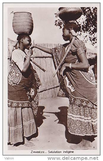 Zambeze  Salutations  Indigene - Mozambique