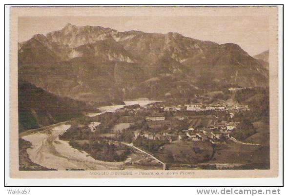 C122- MOGGIO UDINESE - PANORAMA E MONTE PLAURIS - UDINE - ITALY ITALIE ITALIEN - Italy