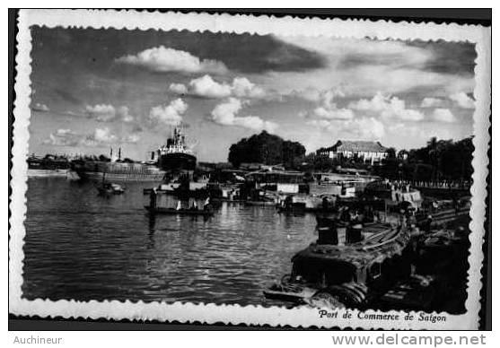 Port De Commerce De Saïgon - Vietnam