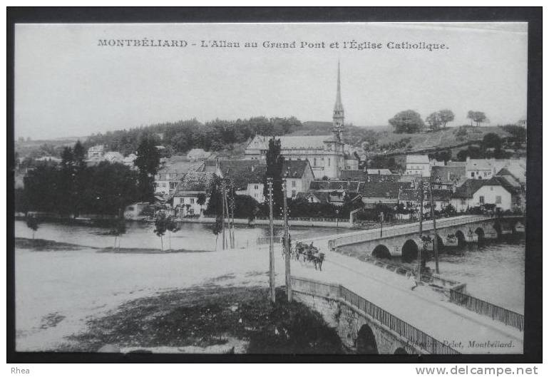 25 Montbéliard Pont    D25D  K25388K  C25388C RH059030 - Montbéliard