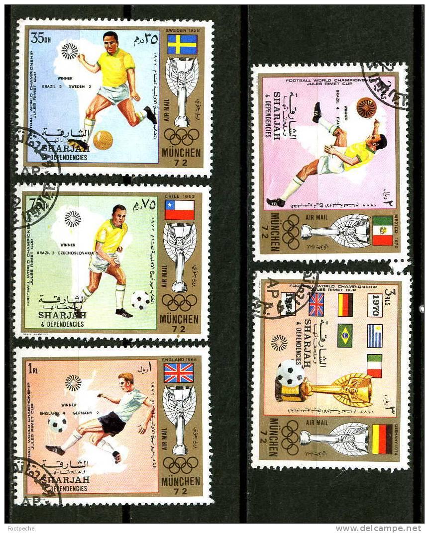 SHARJAH 1972    FOOTBALL     OBL    Référence N° 5685 - Football
